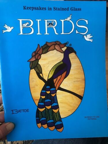 Birds Keepsakes in Stained Glass