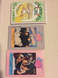 Strawberry Girl and other BOOKS