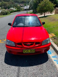2001 Hyundai Accent Hatchback Jewells Lake Macquarie Area Preview
