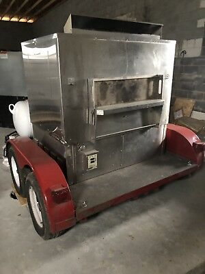 Wood Stone Fire Deck 6045 Mobile Pizza Oven