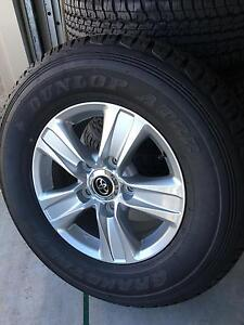 5 New Toyota Land Cruiser Wheels & Tyres North Lakes Pine Rivers Area Preview