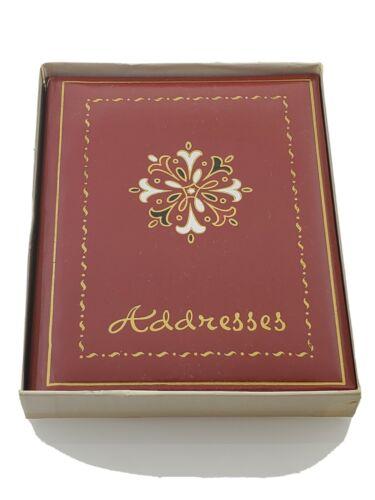 Vintage Telephone Address Book A-Z Tabs Birthdays Anniversar