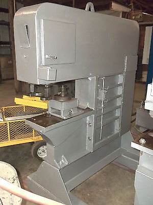 Piranha Sep120 Single End Punch 120 Ton Ironworker