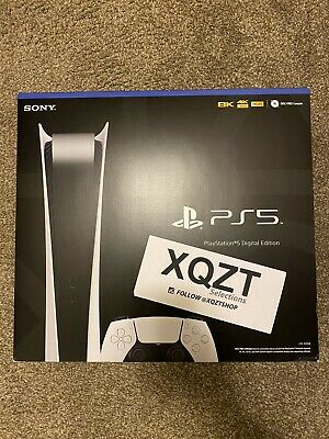 Sony Playstation 5 (PS5) DIGITAL Edition Brand New IN HAND *SHIPS TODAY*