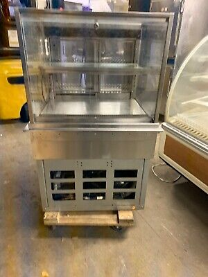 Structural Concepts Dos3123r Drop In Glass Refrigerated Display Case Used