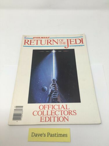 STAR WARS Return of the Jedi Official Collectors Edition (1983) Book