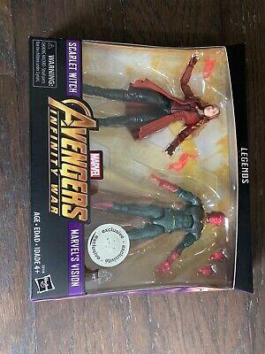 marvel legends scarlet witch vision 2 pack