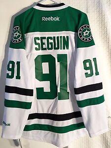Reebok Premier NHL Jersey DALLAS Stars Tyler Seguin White sz XL