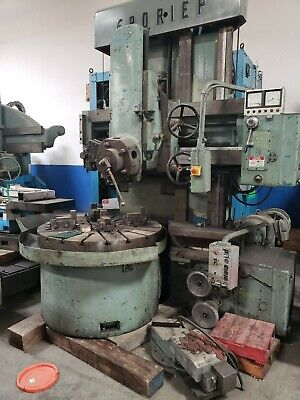 Froriep Vertical Turret Lathe With Side Head