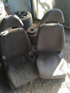 Silvia 180sx s13 front seats pair sr type  Keilor Downs Brimbank Area Preview