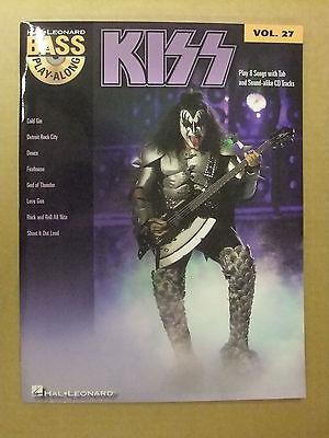 MANGEL Kiss Bass Play-Along Noten Tab mit CD MANGEL