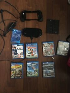 PSVITA and accessories and games