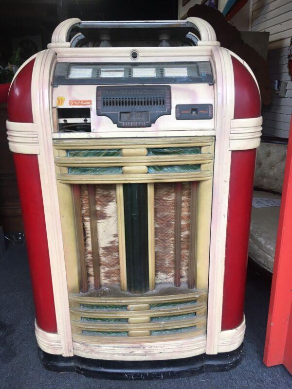 Antique Seeburg Jukebox Art Deco Symphonola Music Box Machine 78 Classic 1930