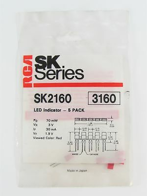 Rca Sk2160 - Red Led Indicator - 5 Pack Nos