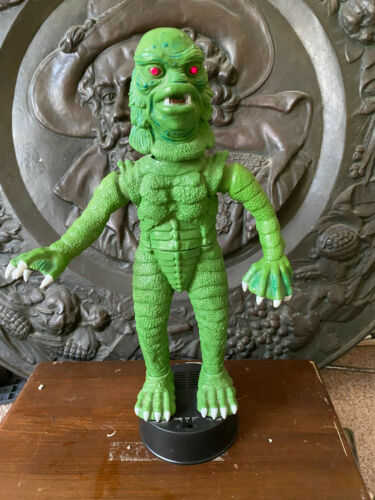 "1992 telco UNIVERSAL MONSTERS GREATURE FROM THE BLACK LAGOON 17"" working   B"