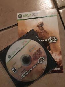 Xbox 360 MW2 Call of Duty