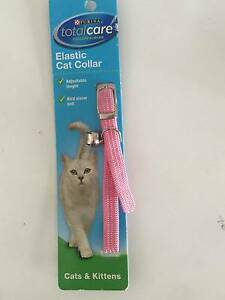 New Purina Total Care Elastic Cat Kitten Collar Pink Capalaba Brisbane South East Preview