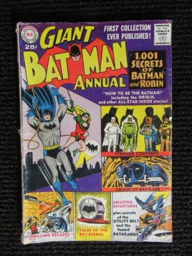 Batman Annual #1  1961  Complete Copy
