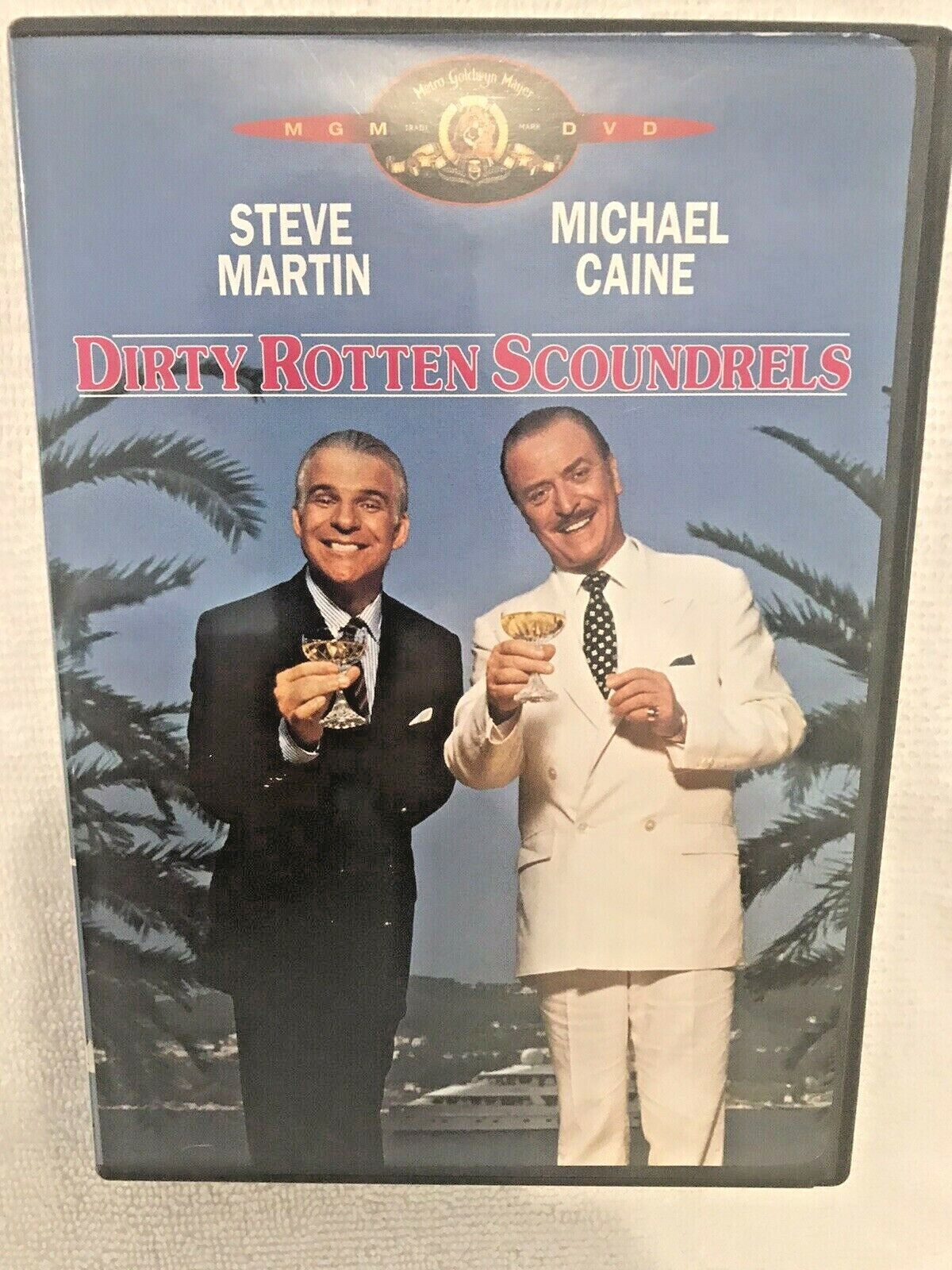 Dirty Rotten Scoundrels DVD, 2001 Steve Martin Michael Caine Comedy - $4.95