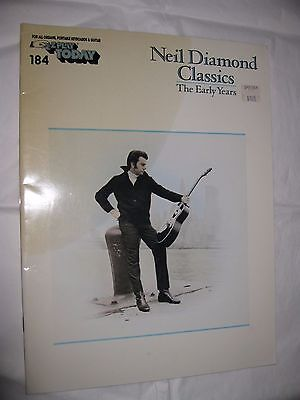 Neil Diamond Classics __The Early Years  Ez Play Today 184__1984