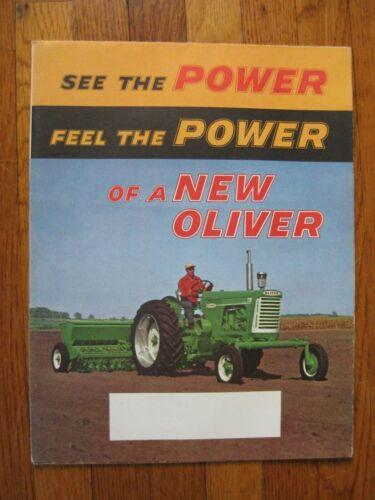 Oliver 770 880 550 995 GM 950 Tractor brochure