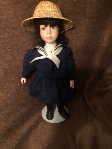 Jennie Cooper Ametican Diary Porcelain Doll 15 Sailor Outfit  - $18.00