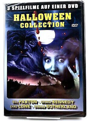 NEU/OVP • DVD • Halloween Collection • 3 Filme Brain dead, Carnival of Souls #M9 ()