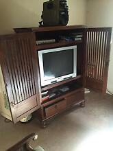 Wooden Tv Cabinet Waverley Eastern Suburbs Preview