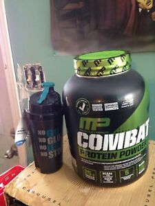 Protein powder and shaker