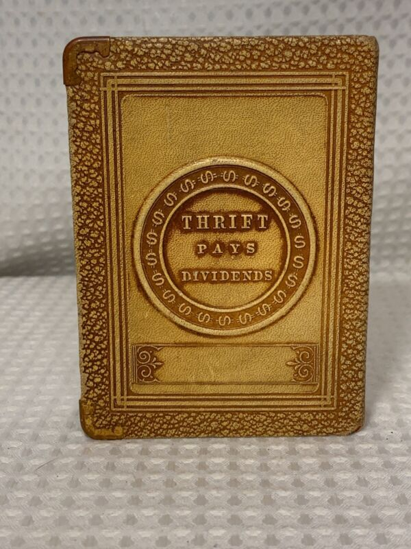 VTG 1923 Bankers Utilities Book of Thrift Bank Pays Dividends Meinhardt Bank WI