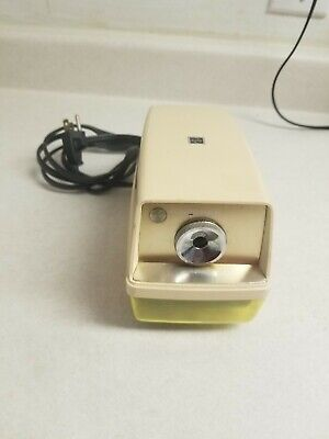 Panasonic Kp-33a Point-o-matic Electric Pencil Sharpener Vintage Japan Tested