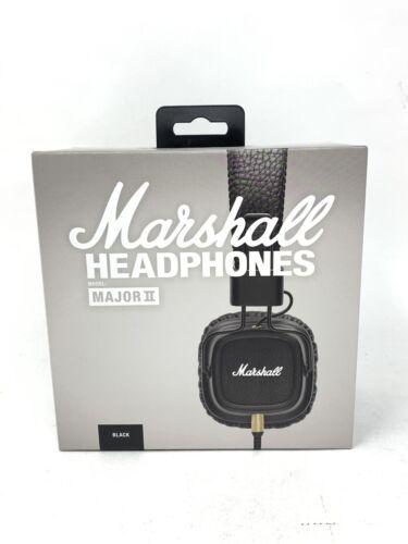 Marshall Major II 2 Headphones NIB Remote Mic HIFI Headset