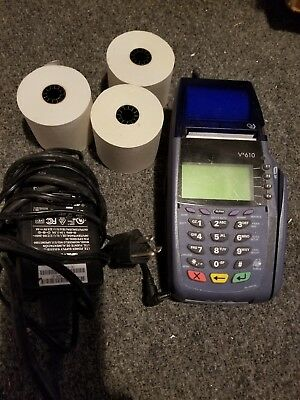 Verifone Vx610 Wireless With Battery And Charger