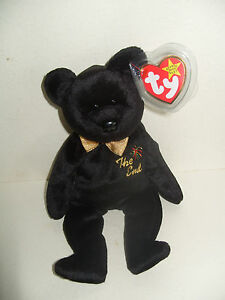 NWT TY BEANIE BABY  THE END