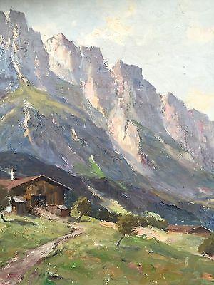 Originales Ölgemälde Kaisertal signiert August Schlüter..