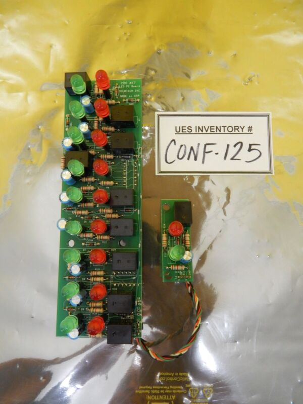 Delatech CDO 857 LED PCB Board Used Working