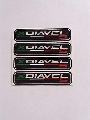 Ducati xDiavel S vinyl custom stickers x4