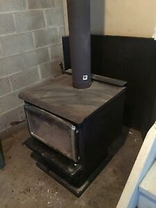 Pacific western wood stove