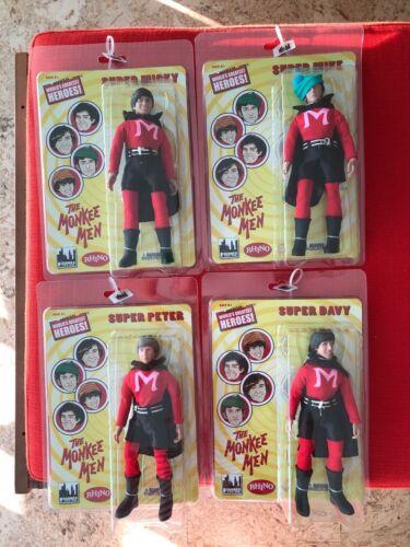 The Monkees 8 Inch Action Figures 2015 Series One MONKEEMEN! Set of 4