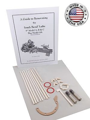 South Bend Lathe 9 Umd Underneath Drive - Rebuild Manual And Parts Kit