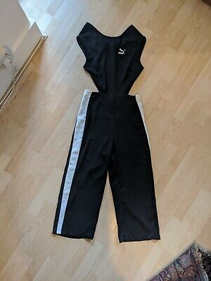 Puma Backless Sports Luxe Jumpsuit UK 12 Comes Up Big worn once