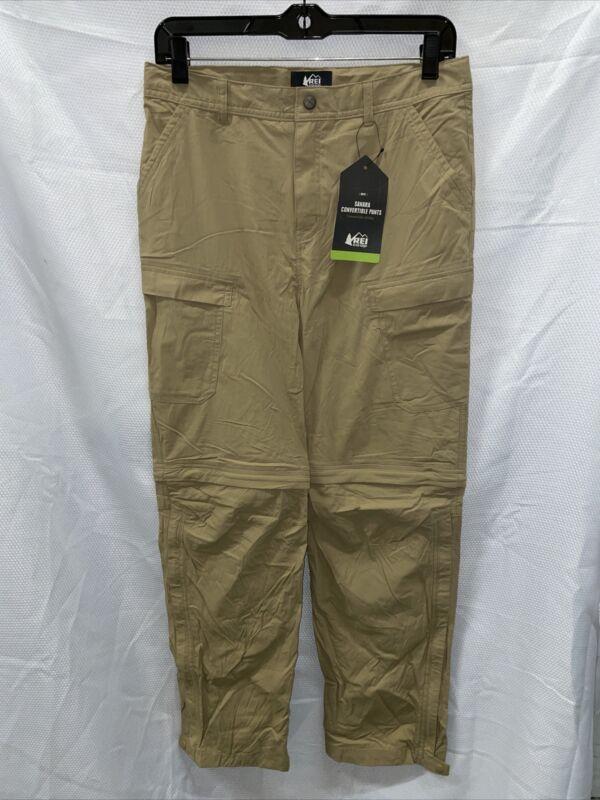 REI Sahara Convertible Pants - Burlap - Boys XL