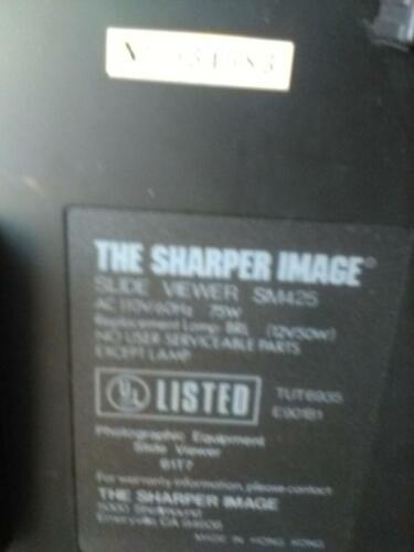 sharper image slide viewer sm425