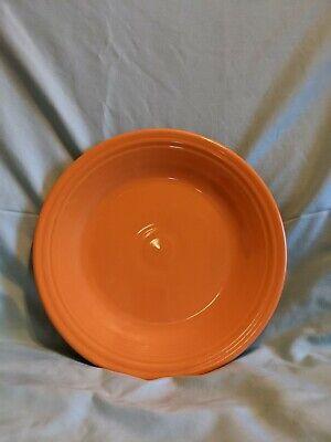 Fiestaware Vintage Tangerine Orange 10.5