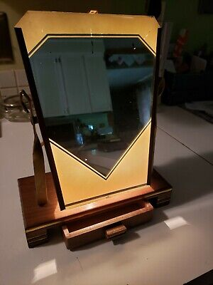 Vintage 1930's The Hollywood Makeup Lighted Mirror