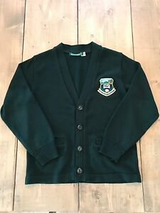 TLC school uniform green cardigan