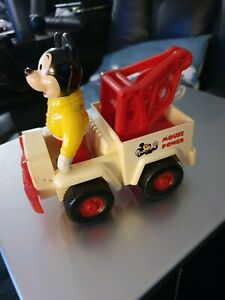 70s micky mouse wind up tow truck