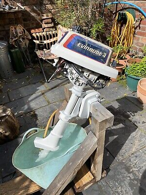 1978 Evinrude Johnson 4hp, Two Stroke Outboard Engine