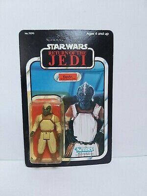 Star Wars Vintage Klaatu Skiff Moc/Carded Figure