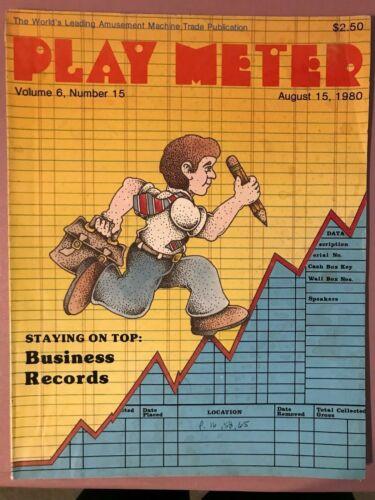 Play Meter Magazine August 15, 1980